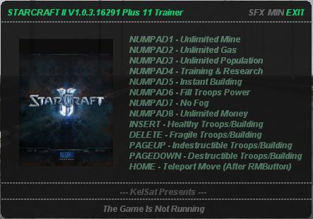 1Starcraft 2 Trainer